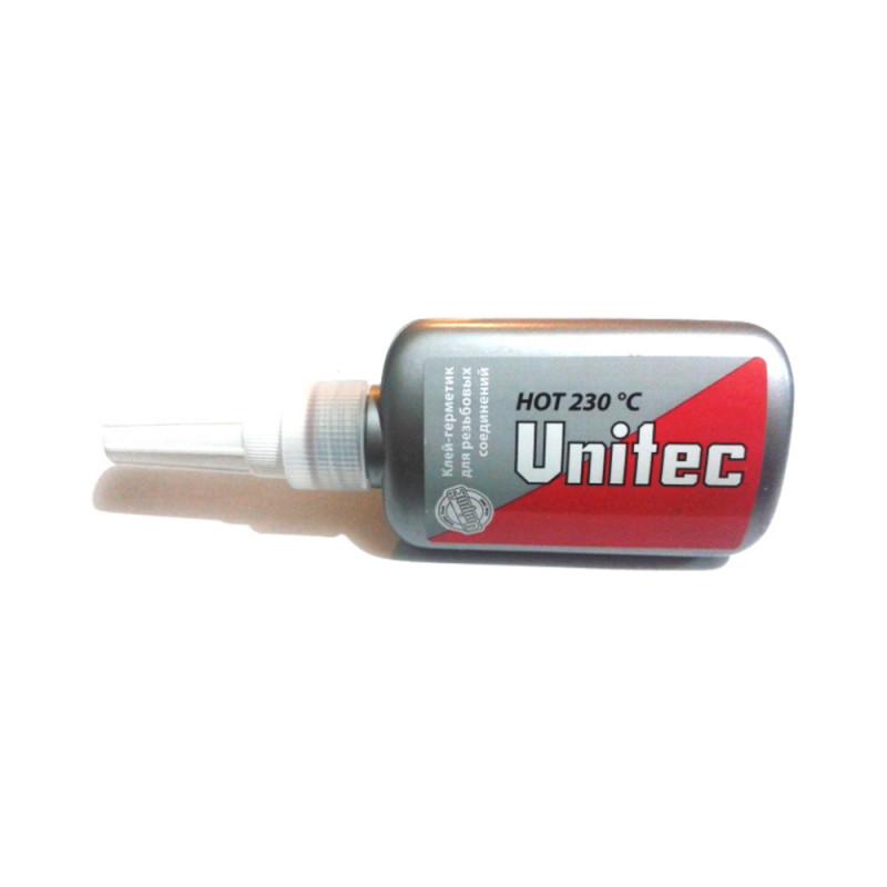 """Клей герметик Unitec Hot Unipak 75 мл в """"гармошке"""""""