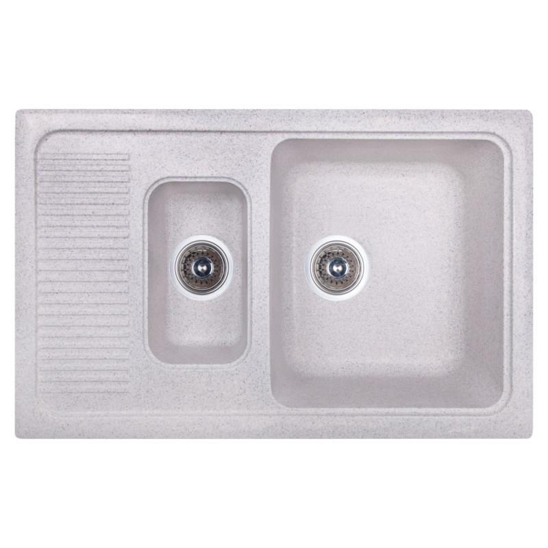 Кухонная мойка Fosto 7749 SGA-210 (FOS7749SGA210)