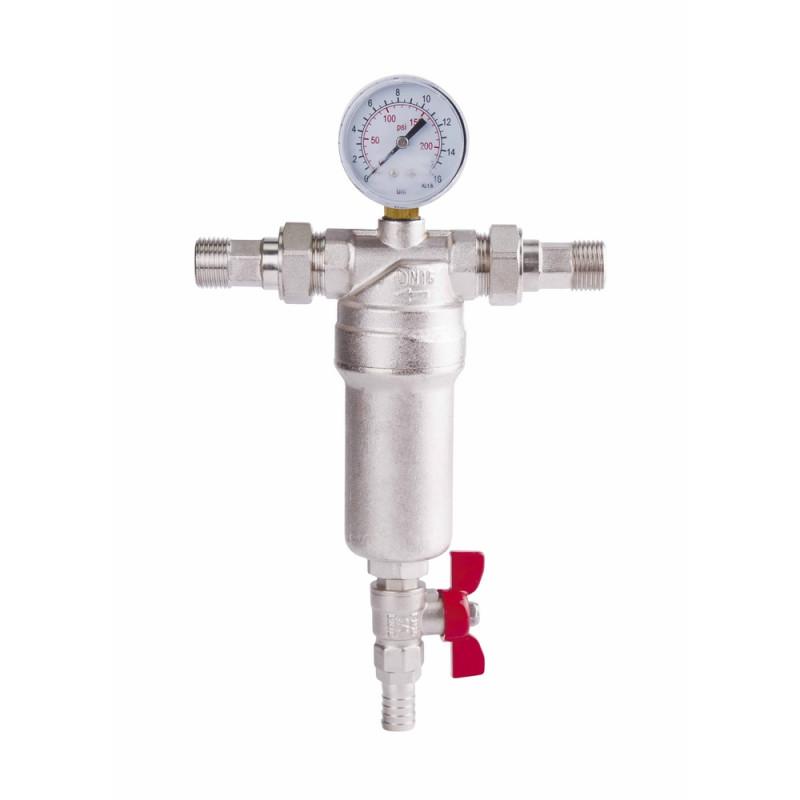 """Фильтр самопромывной SD Forte 1/2"""" для воды"""