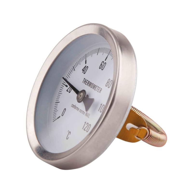 Термометр SD Plus 120ºC Ø63 накладной