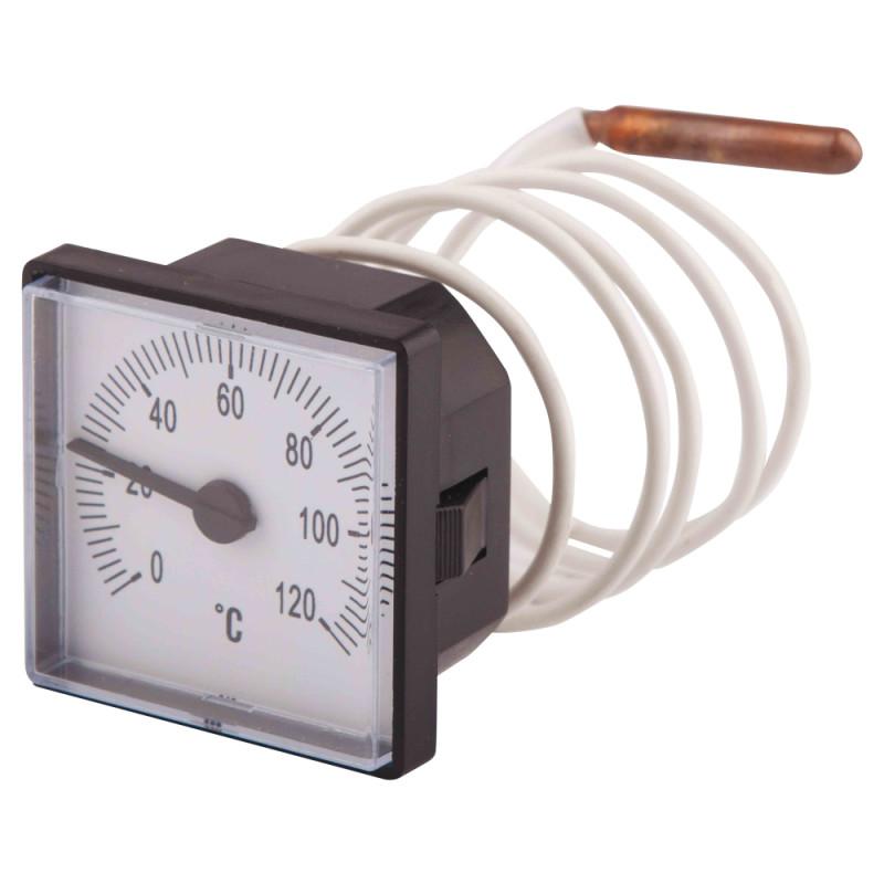 Термометр капиллярный SD Plus 48х48 мм