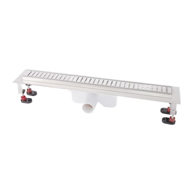 Трап линейный Q-tap с нержавеющей решеткой 600х60 CRM