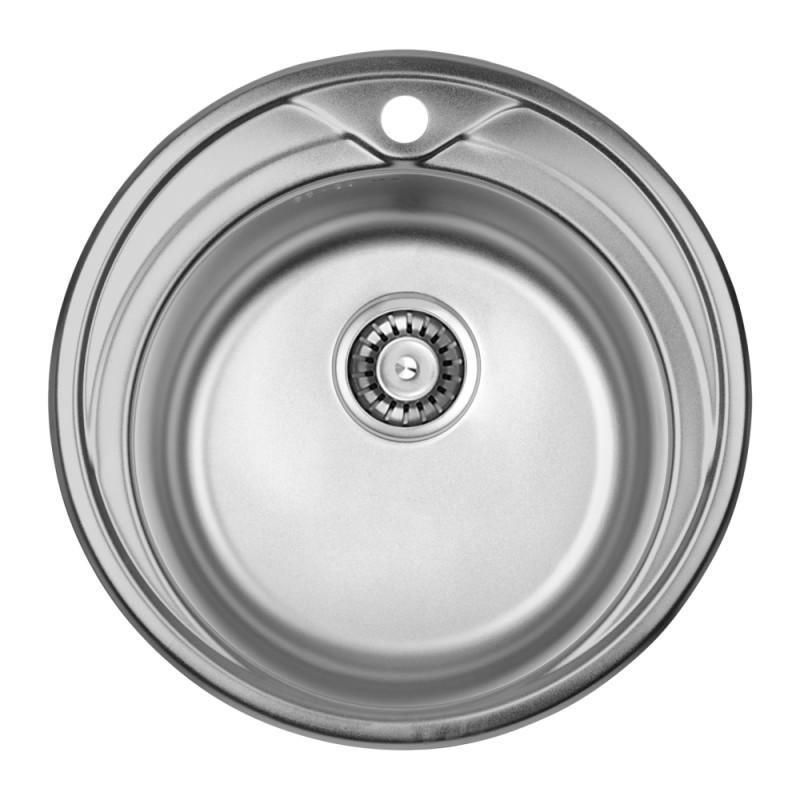 Кухонная мойка ULA 7109 U Satin (ULA7109SAT08)