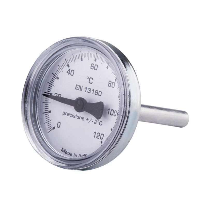"""Термометр 0-120C для антиконд. клап. """"Icma"""" Арт. 134"""