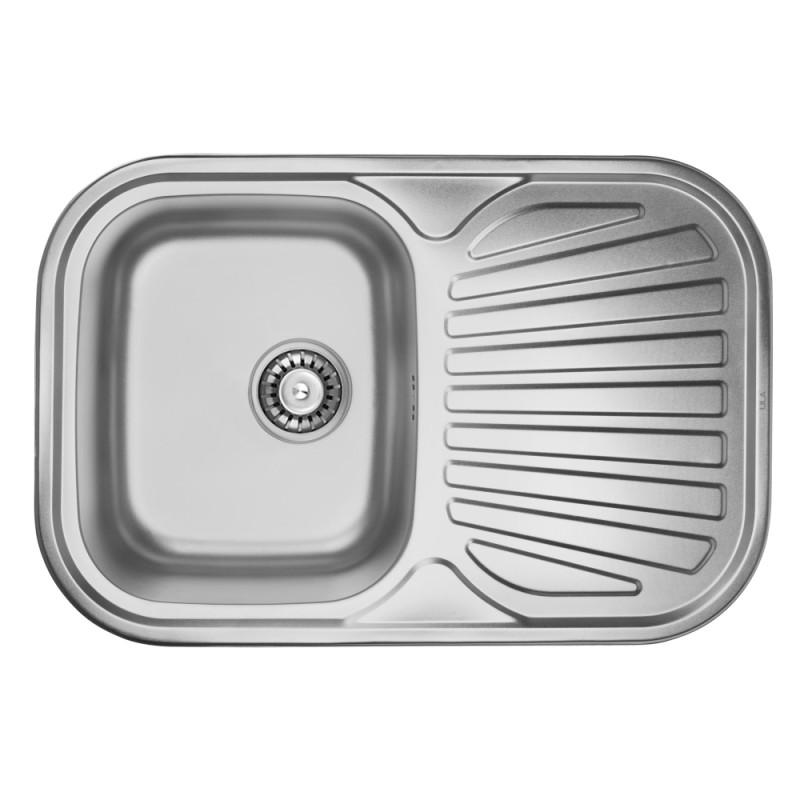 Кухонная мойка ULA 7707 U Satin (ULA7707SAT08)