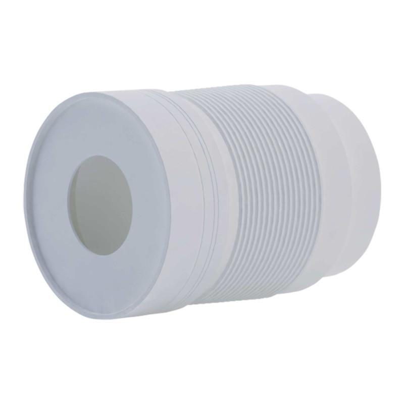 Гофра ANI Plast К821 для унитаза d 110 мм, длина 230 мм - 500 мм