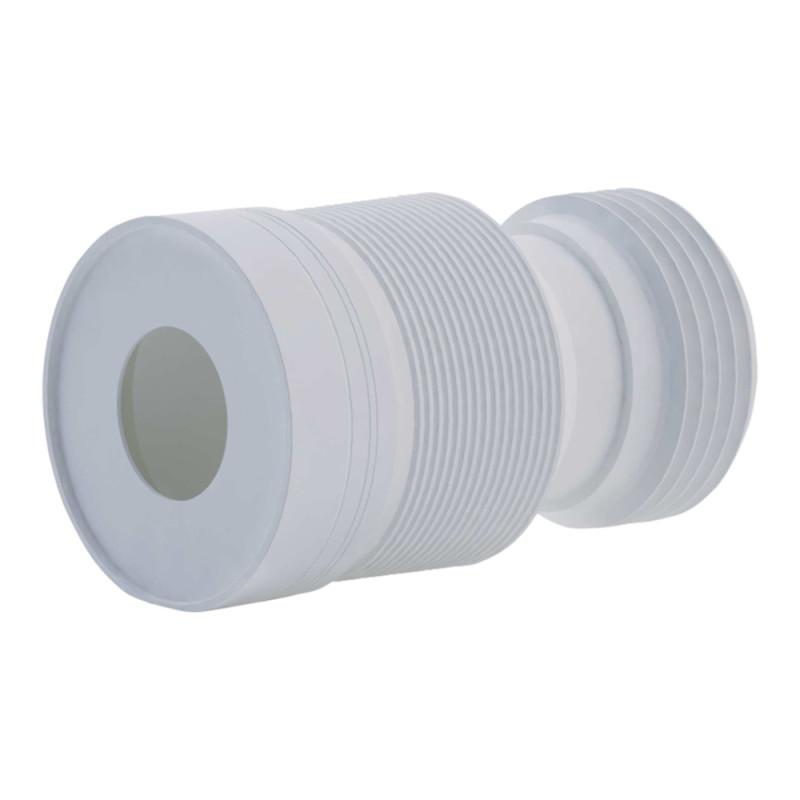 Гофра ANI Plast К828 для унитаза d 110 мм, длина 230 мм - 500 мм