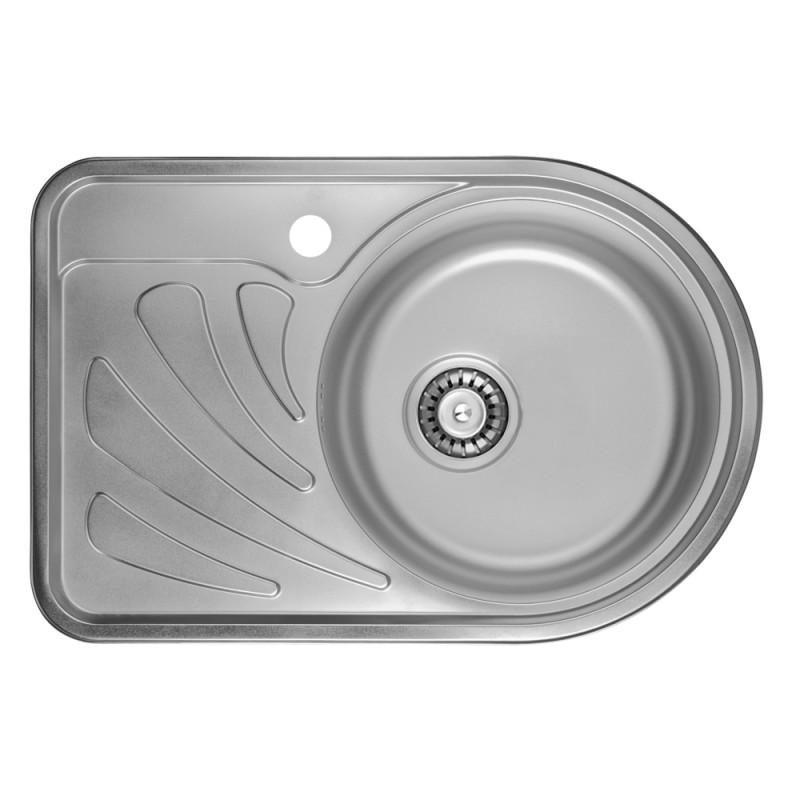 Кухонная мойка ULA 7111 R Micro Decor (ULA7111DEC08R)