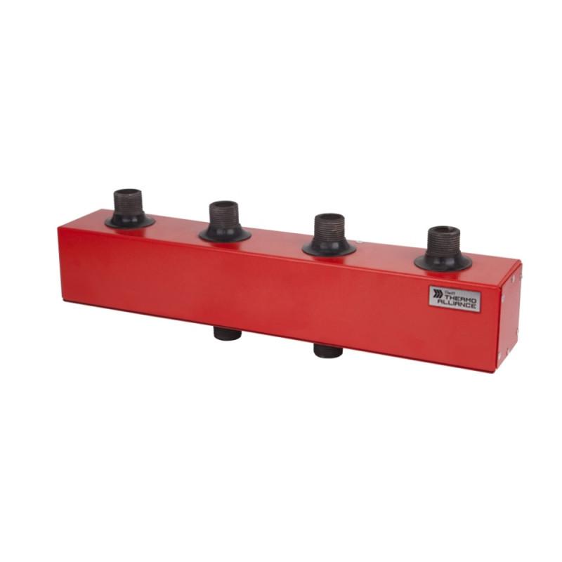 """Колектор розподільний КР-100-2 100 кВт d-11/4"""" 2 вих. 5,89 куб. м/год"""