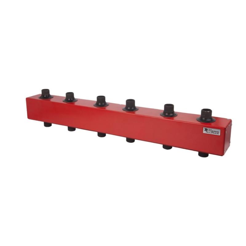 """Колектор розподільний КР-100-5 100 кВт d-11/4"""" 5 вих. 5,89 куб. м/год"""