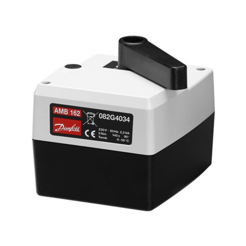 Danfoss Электропривод AMB162, 60с, 5 Нм, 230В под импульсн. cигнал (082H0222)