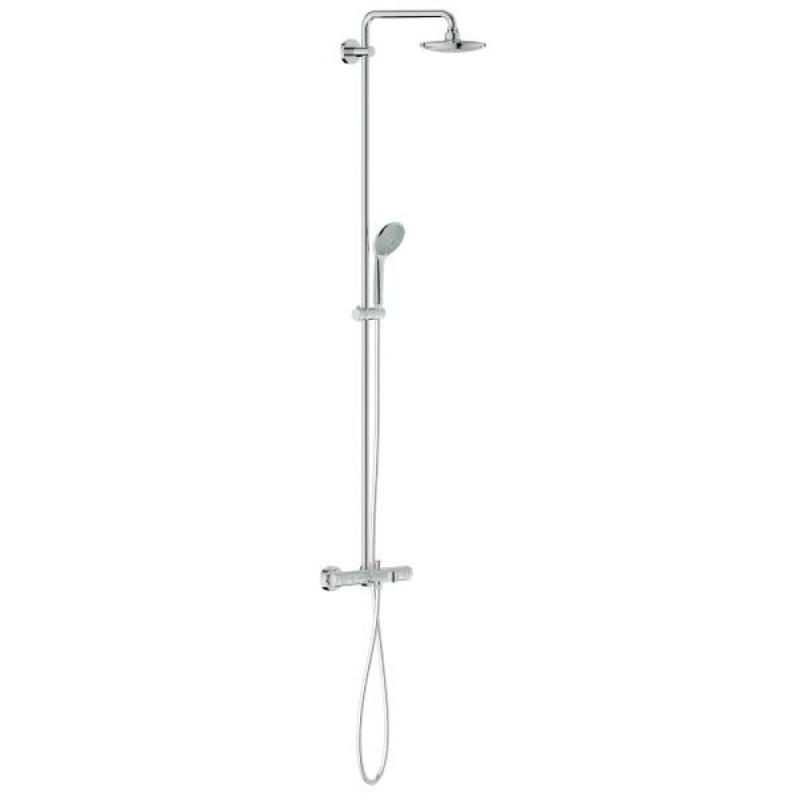 Grohe Euphoria 27475000 душевая система с термостатом для ванны