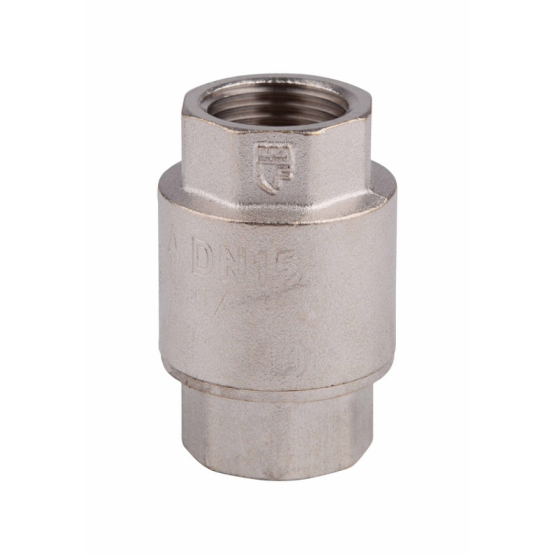 SD FORTE Обрат.клапан с лат.штоком 1/2 никель    SF240NW15