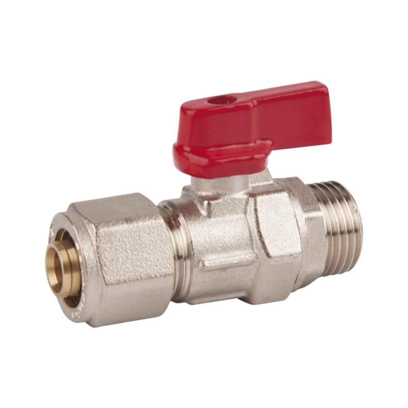 SD FORTE Кран шар. для М/П труб 1/2н х 16    SF262W15