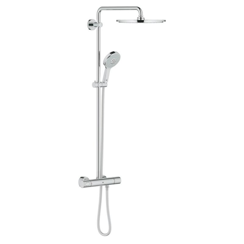 Grohe Rainshower 27968000 душевая система с термостатом
