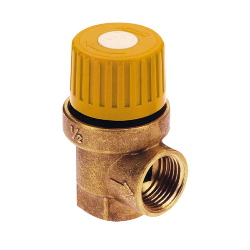 "Предохранит.клапан для гелиосистемы 1/2 х 3/4 вв (6 бар) ""Icma"" №S121"