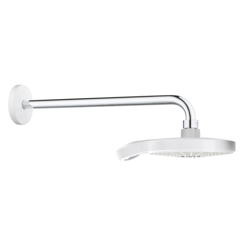 Grohe Power&Soul Cosmopolitan 190 26172LS0 Верхний душ и душевой кронштейн 422 мм (белый)