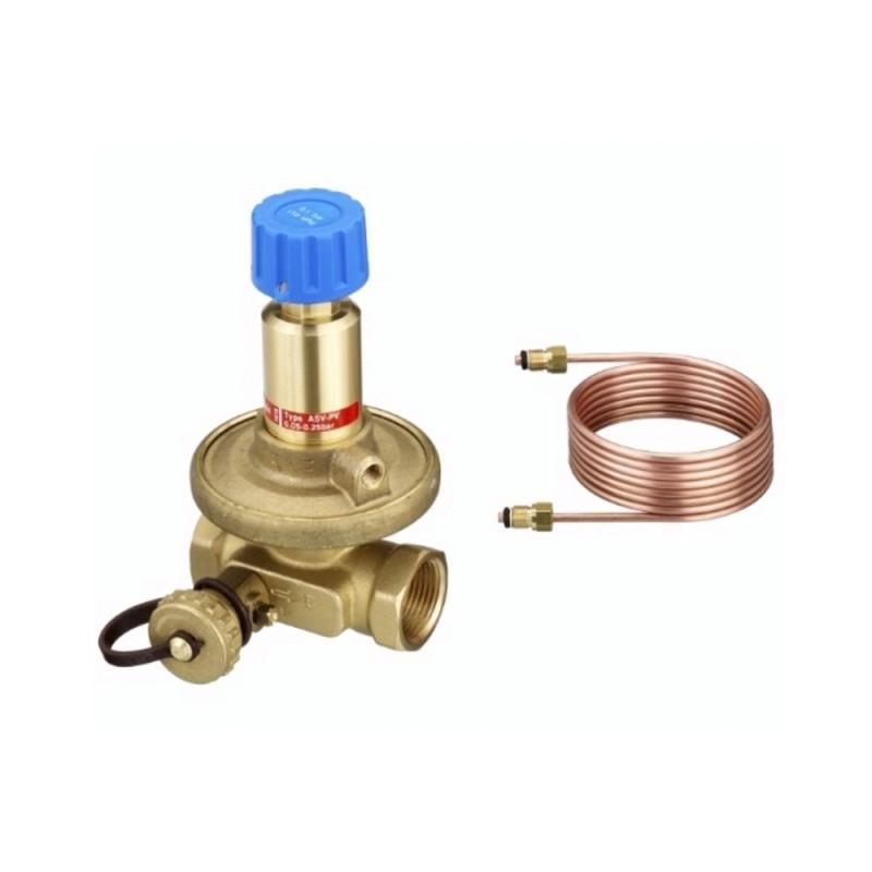 """Danfoss Балансировочный клапан ASV-PV 3/4"""" 0,05-0,25 бар (003L7602/003Z5502)"""