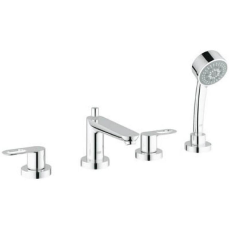 Grohe BauLoop 25119000 смеситель для ванной на 4 отверстия