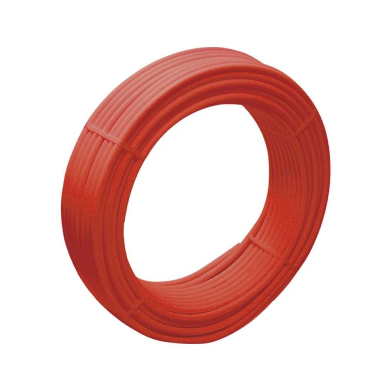 SD Труба тёплый пол PEXAL красная EVOH c кисл. бар. 16*2.0. (PN10) 100 м   SD30316100P