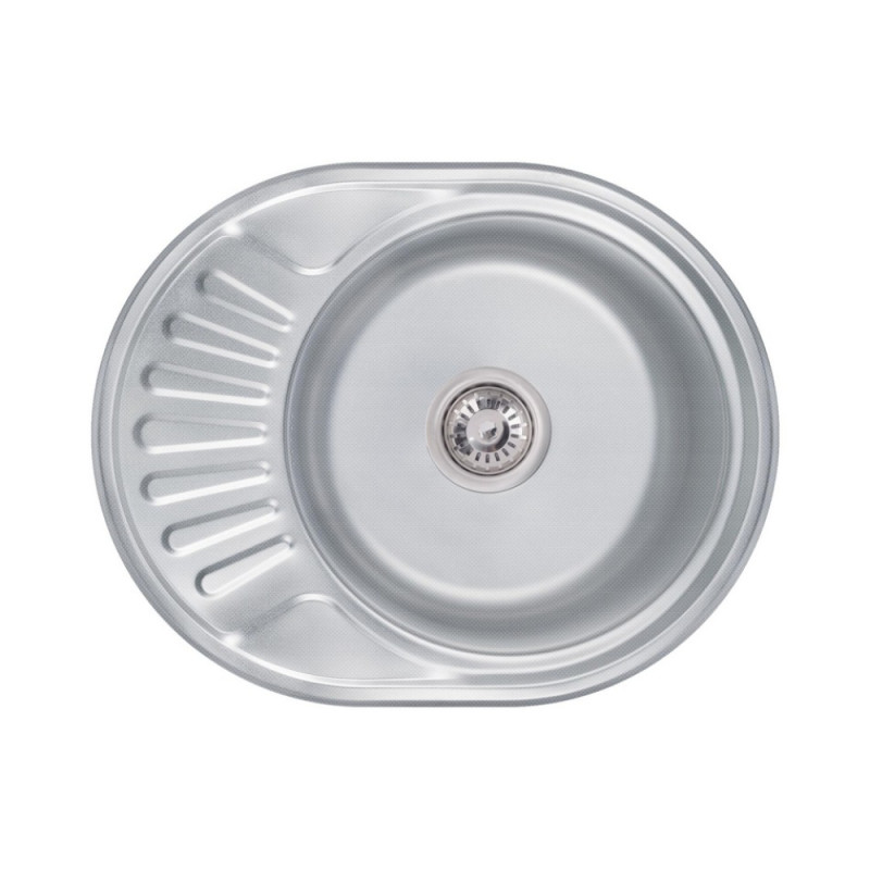 Кухонная мойка Lidz 5745 Decor 0,6 мм (LIDZ604406DEC160)