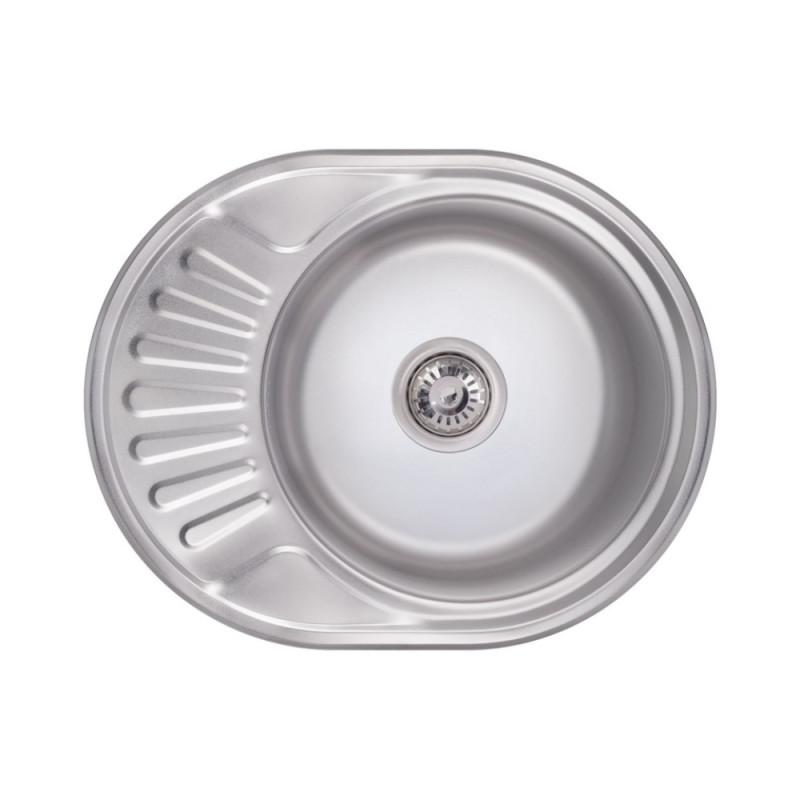 Кухонная мойка Lidz 6044 Polish 0,6 мм (LIDZ604406POL)