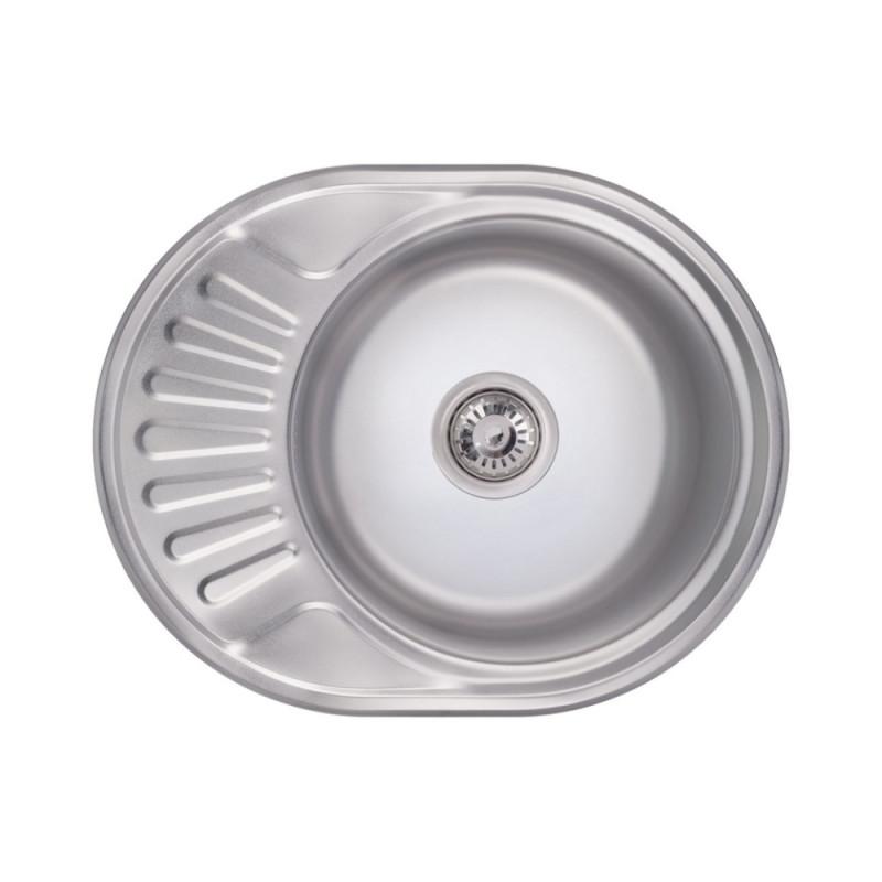 Кухонная мойка Lidz 6044 Polish 0,8 мм (LIDZ6044POL)
