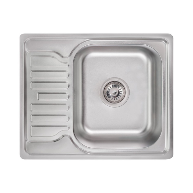 Кухонная мойка Lidz 5848 Satin 0,8 мм (LIDZ5848SAT)