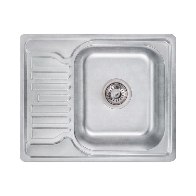 Кухонная мойка Lidz 5848 Decor 0,8 мм (LIDZ5848DEC)