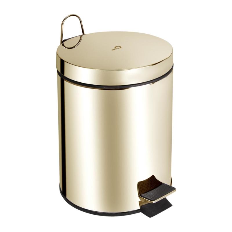 Ведро для мусора Q-tap Liberty 1149 ORO