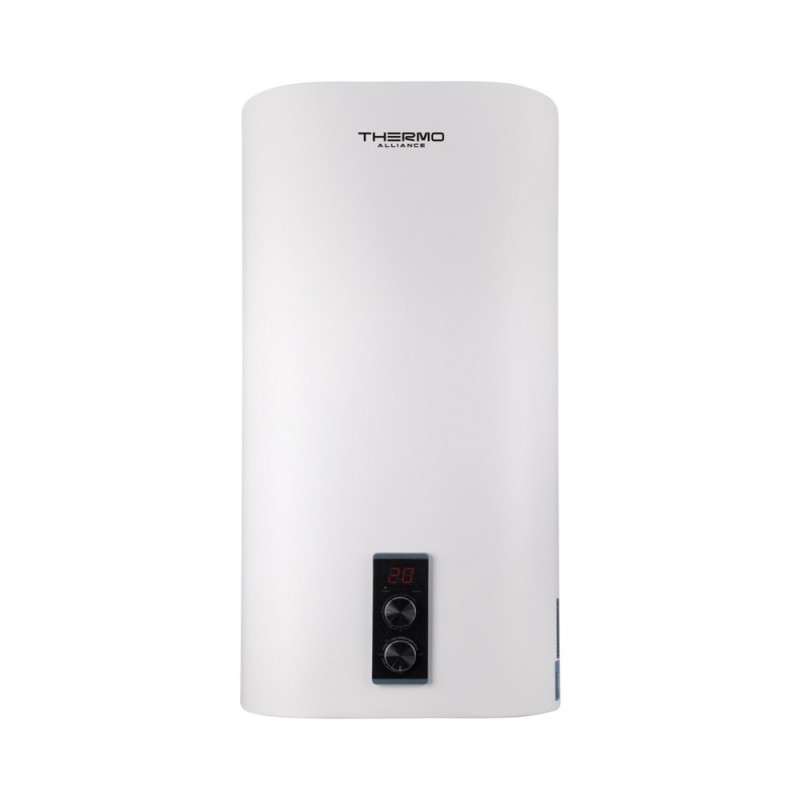 Водонагреватель Thermo Alliance 80 л, мокрый ТЭН 1х(0,8+1,2) кВт DT80V20G(PD)