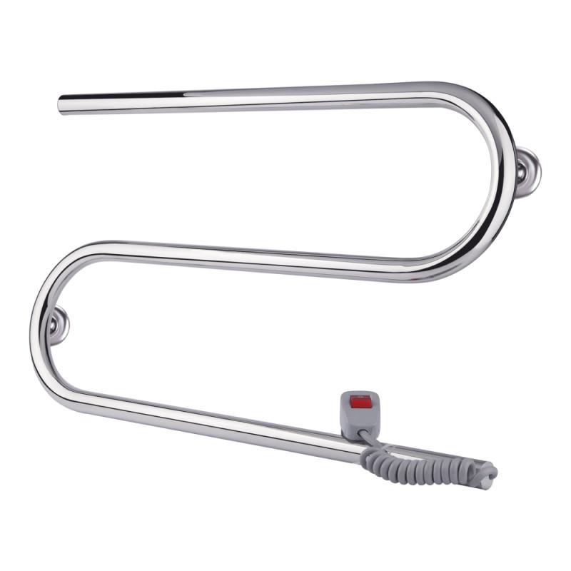Полотенцесушитель электрический Q-tap Snake (CRM) 600х330 RE