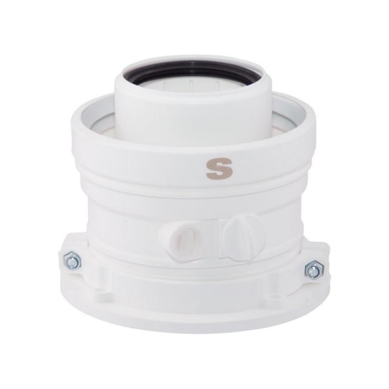 Коаксиальный конденсатосборник Sime для конденсационных котлов 60/100 140 мм