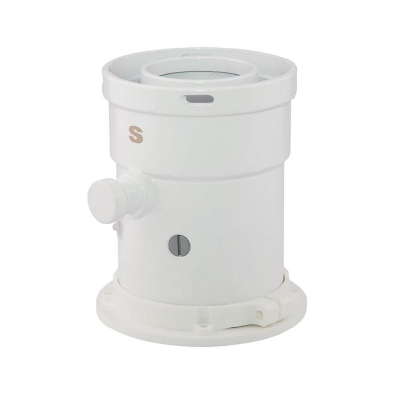 Коаксиальный конденсатосборник Sime для традиционных котлов 60/100 200 мм
