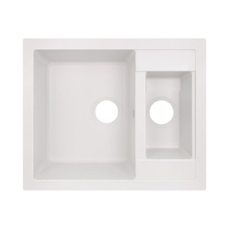 Кухонная мойка GF 615x500/200 WHI-01 (GFWHI01615500200)