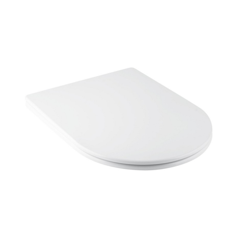 Сиденье для унитаза Qtap Swan /Jay с микролифтом Slim QT1699SC5176W