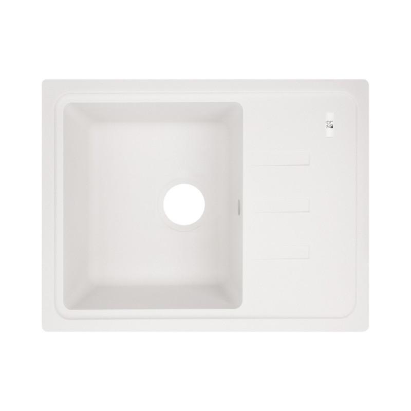 Кухонная мойка Lidz 620x435/200 WHI-01 (LIDZWHI01620435200)