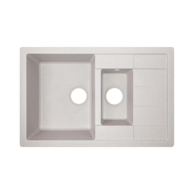 Кухонная мойка Lidz 780x495/200 GRA-09 (LIDZGRA09780495200)