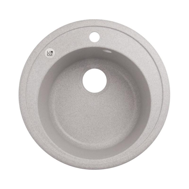 Кухонная мойка Lidz D510/200 GRA-09 (LIDZGRA09D510200)