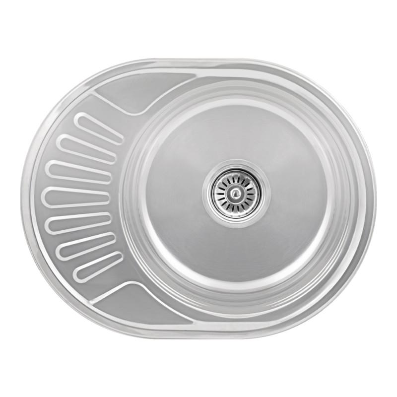 Кухонная мойка Lidz 5745 Polish 0,6 мм (LIDZ5745POL06)
