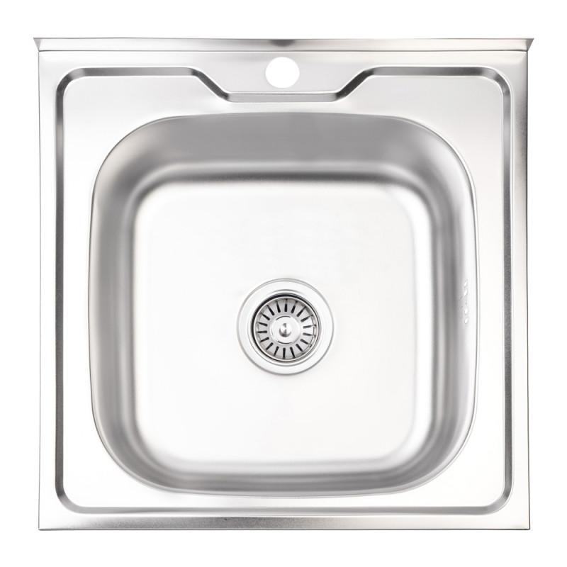 Кухонная мойка Lidz 5050 Satin 0,6 мм (LIDZ5050SAT06)