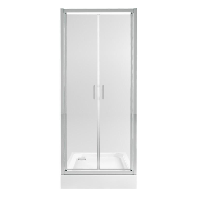 Набор Qtap дверь в нишу Gemini CRM209.C6 + поддон Unisquare 309915