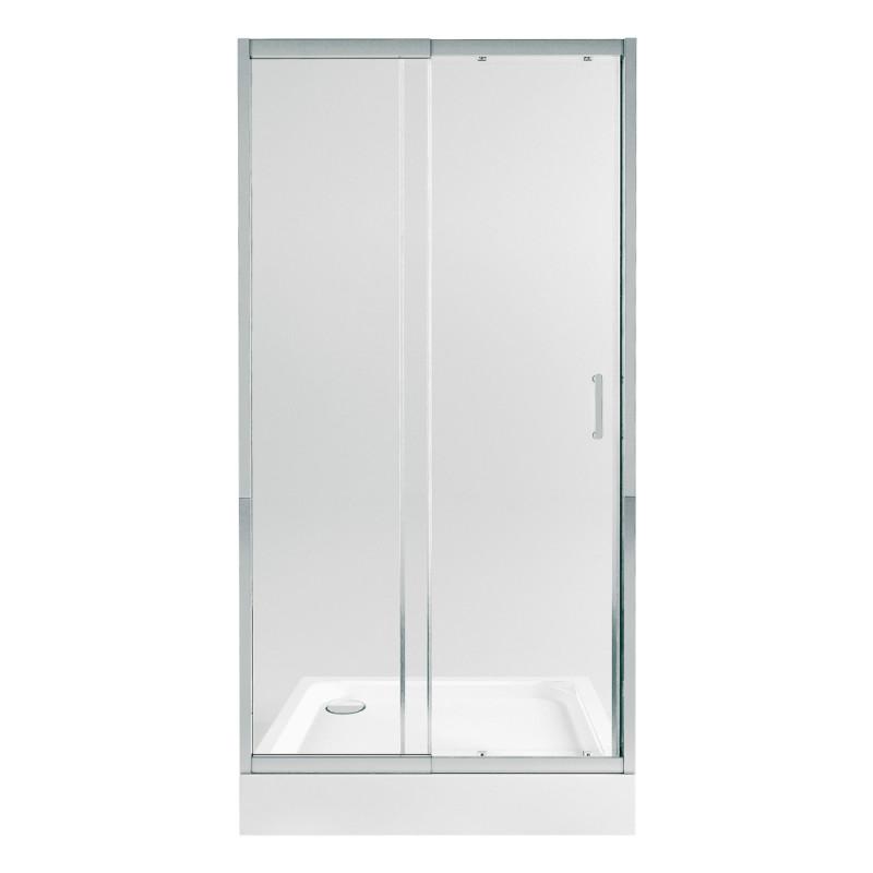 Набор Qtap дверь в нишу Taurus CRM201-11.C6 + поддон Unisquare 301815