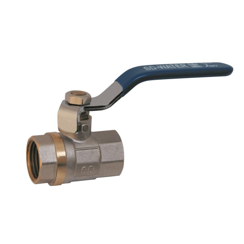 SD Шар.кран 1 1/2 РГГ вода   SD600W40