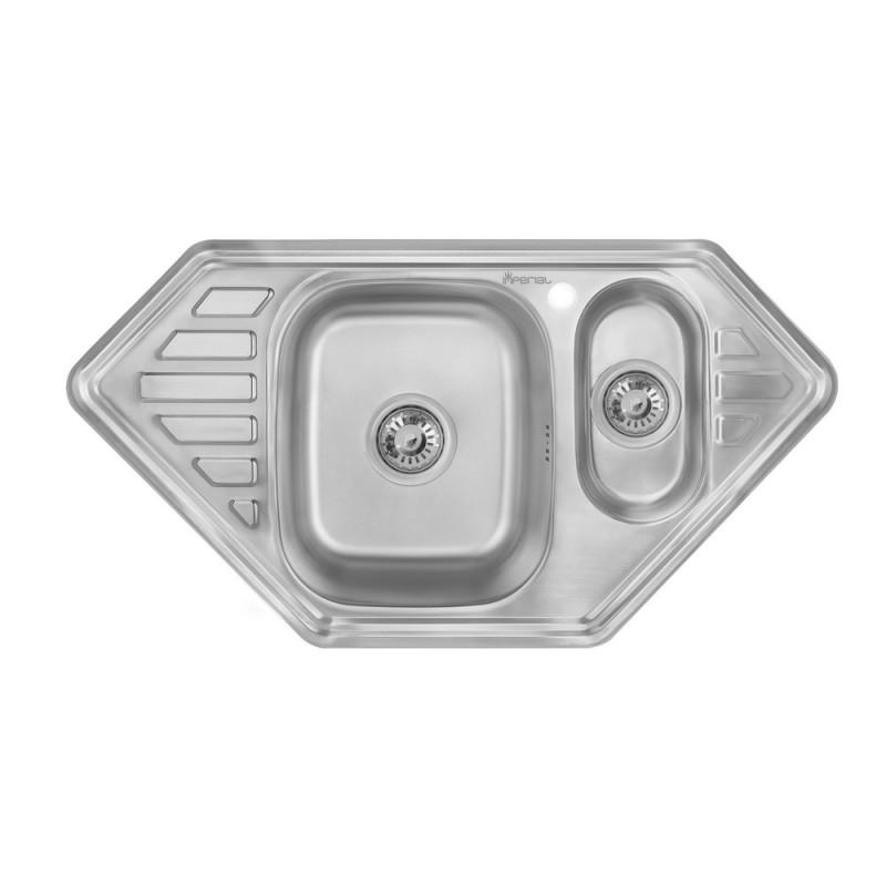 Кухонная мойка Imperial 9550-С Decor (IMP9550СDECD)