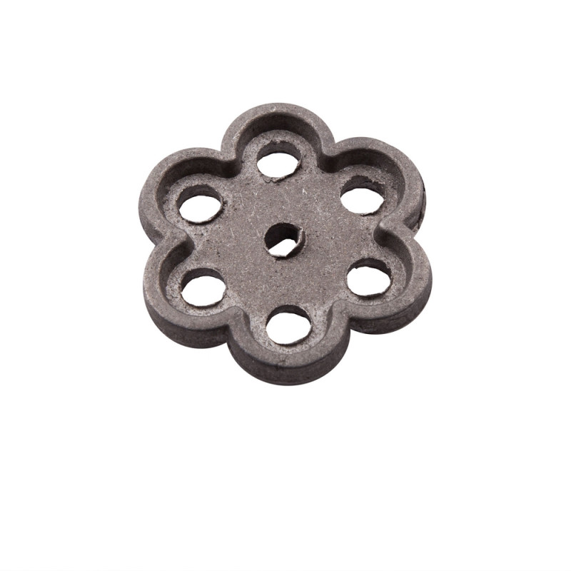 Маховик алюминиевый круглый (ромашка)