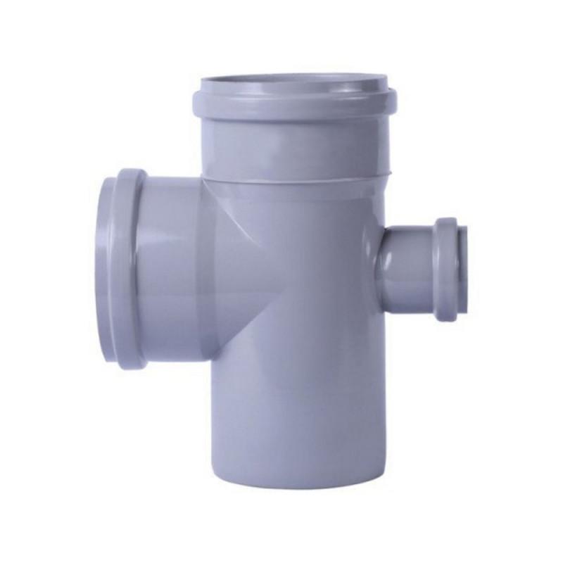 Крестовина канализационная TA Sewage 110х110х110х50, 45°