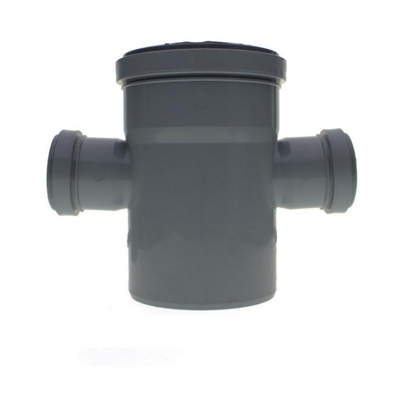Крестовина канализационная TA Sewage 110х50х110х50, 90°