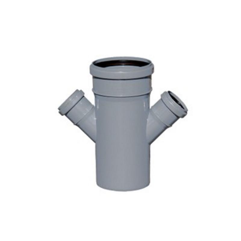 Крестовина канализационная TA Sewage 110х50х110х50, 45°