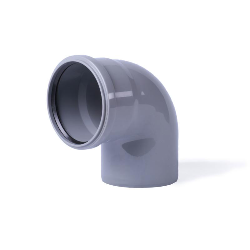 колено 45°  50х50 (1рез) Интерпласт
